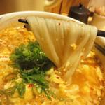 えびすやうどん - ヤワモチうどん最高♪ セットの場合は、白ご飯を投入して雑炊風にしても美味しいらしいです。