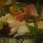 魚菜屋 常峰 - お造り盛り合わせ1500円×2人