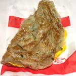忠將葱抓餅 - 料理写真: