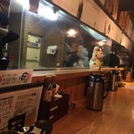 天ぷら海鮮米福 - 内観
