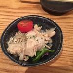 天ぷら海鮮米福 - 付出し