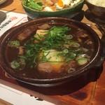 天ぷら海鮮米福 - 牛スネ肉の肉豆腐