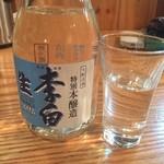 天ぷら海鮮米福 - 生酒(李白)