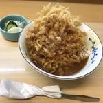 天重 本店 - カレーかき揚丼