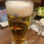 くし家 串猿 - 生ビール