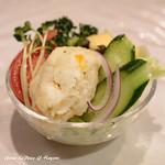 煉瓦亭 - 小野菜サラダ