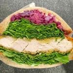 Park South Sandwich - しそ香るチキンカツ