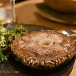 SARU Wine Japan Bistro - 「マグロの希少部位ステーキ」