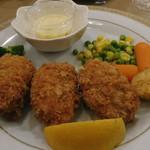レストラン山水 - たらば蟹のクリームコロッケ