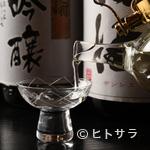 綴 - 料理の名脇役、地元の酒蔵を主流にセレクトされる日本酒