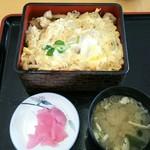 レストランこぶし - あつま産桜姫鶏親子丼