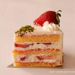 フィオレンティーナ ペストリーブティック - さちのか苺のショートケーキ