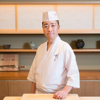 杉田孝明氏(スギタタカアキ)―驕りのない誠実さで魅せる鮨職人
