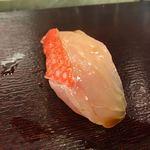 寿し忠 - 金目鯛