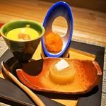 シャンパン&ワインと熟成鮨 Rikyu - 前菜