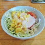 カレーやマドラス - サラダ