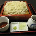 麻布永坂 更科本店 - お声掛けで、御膳そば・・。