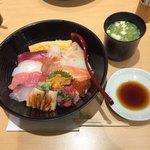 築地寿司清 - 大名ちらしとお椀