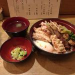 80155057 - 限定串焼丼、1,200円