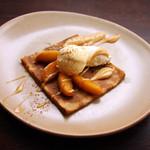 ブレッツカフェ クレープリー - クレープ タタン ビス