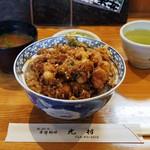 光村 - かき揚げ丼