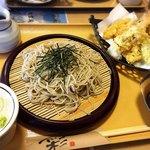 二代目竹渕 - 料理写真:天ざるそば