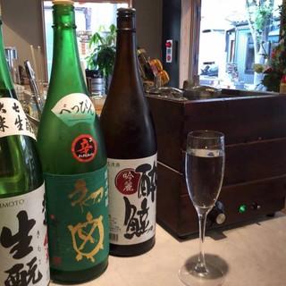 四季折々の日本酒をお楽しみください♪