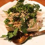 ふるさと - パクチー豆腐