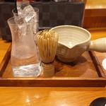 80161792 - 富士山抹茶割り