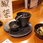 板前寿司 - 日本酒冷酒とお通し