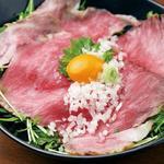 近江牛サーロインローストビーフ丼