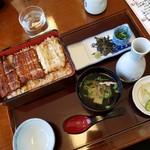 urawanounagimandana - うなぎ三昧4300円