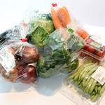しののめ産直市 - 野菜いろいろ