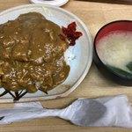 河金 - 日替りランチ:チキンカツカレー(500円)