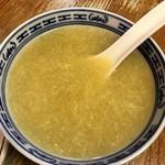 周香港飯店 - 中華コーンスープ付き