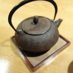 勢揃坂 蕎 ぎん清 - 蕎麦湯