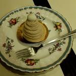 カフェ ナドック - モンブラン 450円
