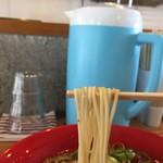 小豆島ラーメンHISHIO 小豆島エンジェルロード店 - ストレート麺です。