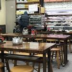 金時食堂 - 店内風景、「昭和」です(2018.1.30)