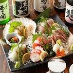 三陸直送 プリプリ牡蠣と新鮮魚介 いわて三陸漁場直送酒場 八○ - いわての地酒と地魚で至福のひと時を過ごせます♪