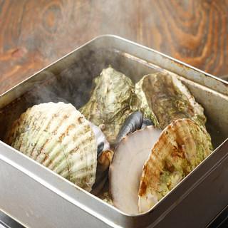 漁師直伝浜料理!旨味がギュッと詰まった名物「ガンガン焼き」
