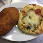 ルフラン - こくまろカレーパン、グリル野菜のカレーパン