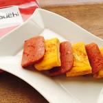 かふぇ&ばるDouchi - 沖縄朝食の定番☆ポーク玉子