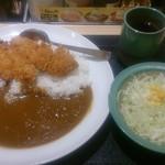 松乃家 - ささみカツカレー並 630円