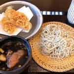 蕎麦 おおつか - 鴨遊膳 桜海老かき揚げ付き