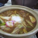 角忠 - 料理写真:味噌煮込みきしめん600円
