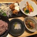 五穀 - 料理写真:山里定食