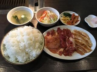 焼肉と料理シルクロード - 欲張りシルクロードセット