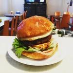 Hamburger&Bar insula - テリヤキエッグバーガー