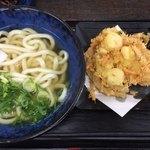 資さんうどん - 料理写真:かき揚げ天うどん
